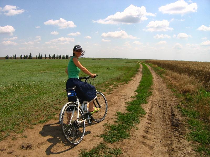 bicicleta Skarpea Life pentru ture offroad