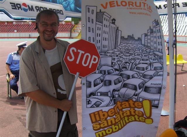 Stop aglomerării auto Liber la biciclete pentru copii!