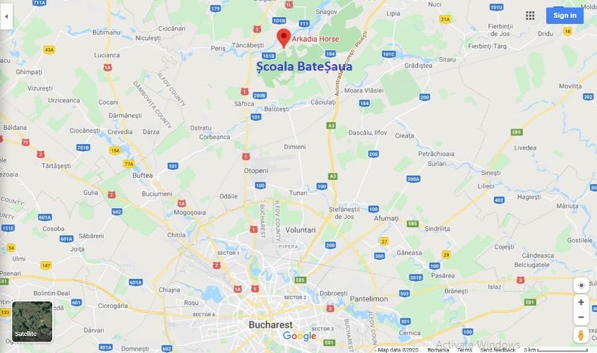 Harta Scoala BateSaua