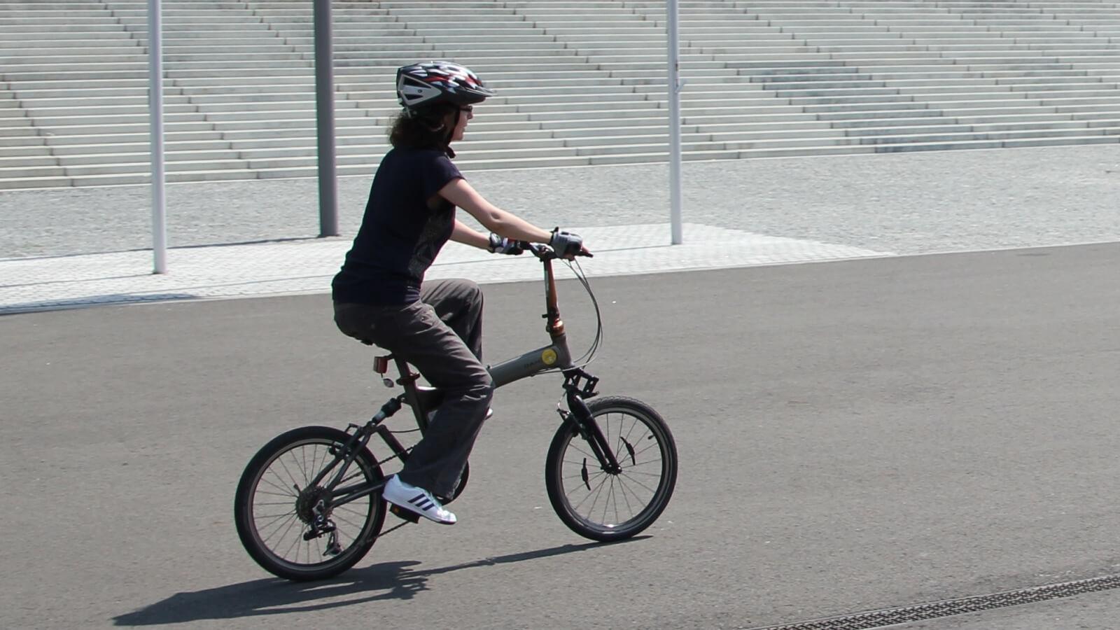 initiere in pedalare la scoala batesaua